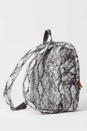 MZ Wallace City Backpack - Grey Snake image 2 - The Sports Edit