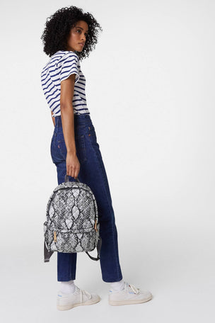 MZ Wallace City Backpack - Grey Snake image 4 - The Sports Edit