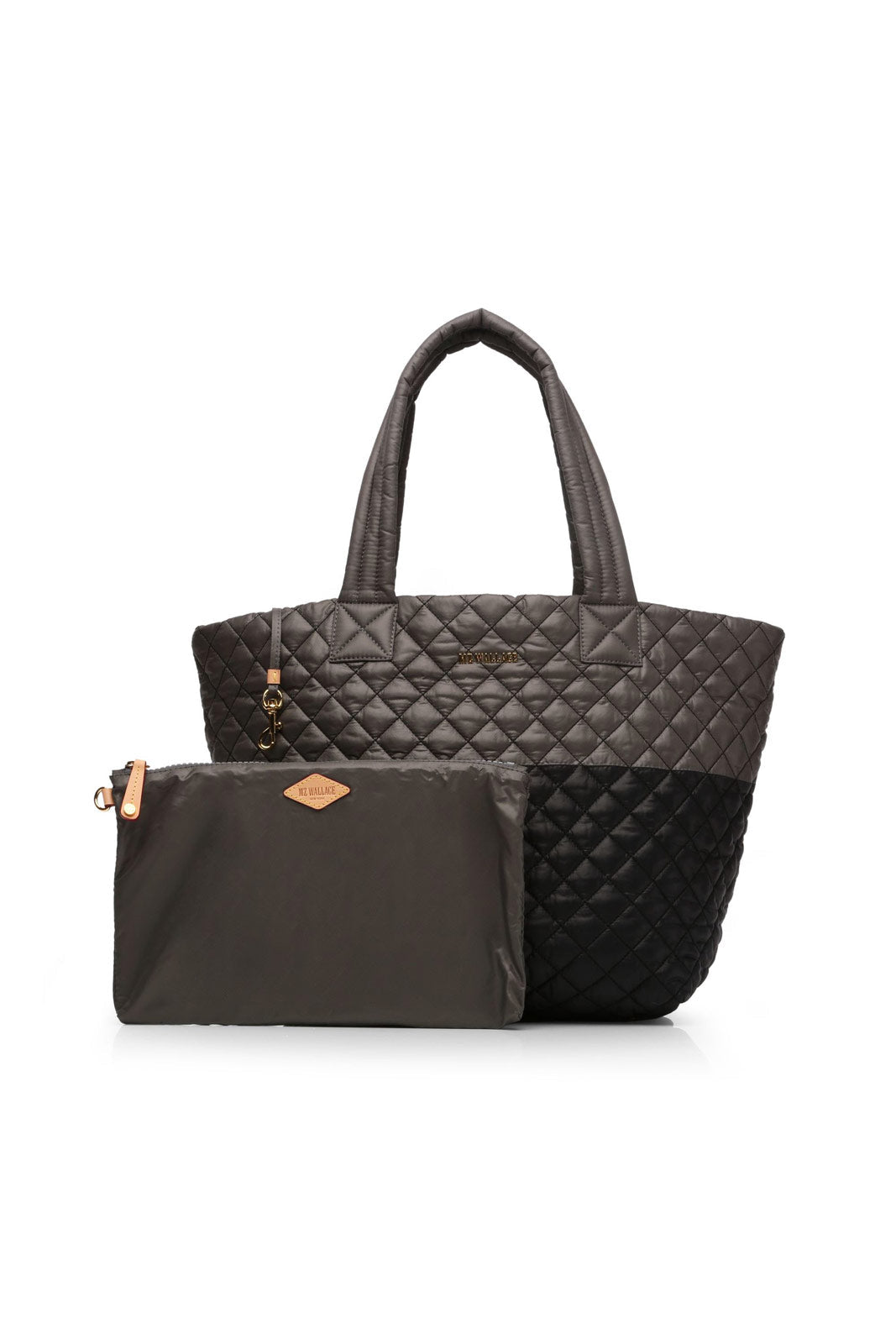 MZ Wallace Metro Tote Medium-Black/Magnet image 4 - The Sports Edit
