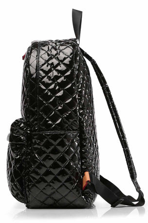 MZ Wallace Metro Backpack - Black Lacquer image 4 - The Sports Edit