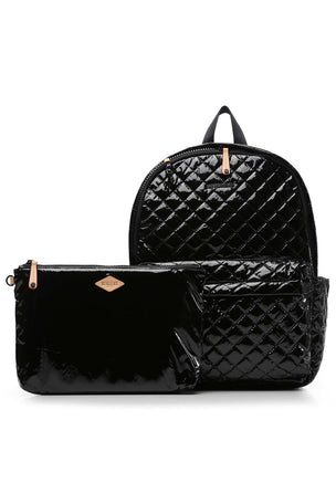 MZ Wallace Metro Backpack - Black Lacquer image 5 - The Sports Edit