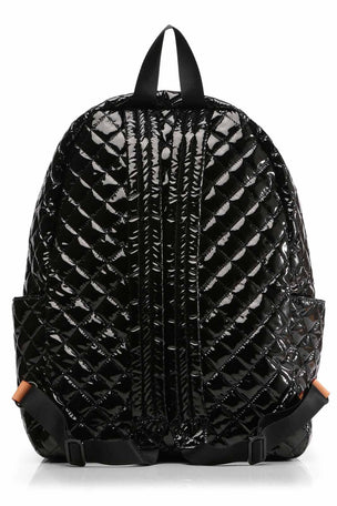 MZ Wallace Metro Backpack - Black Lacquer image 3 - The Sports Edit