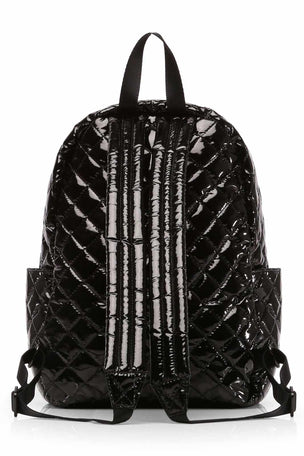 MZ Wallace Small Metro Backpack - Black Lacquer image 3 - The Sports Edit