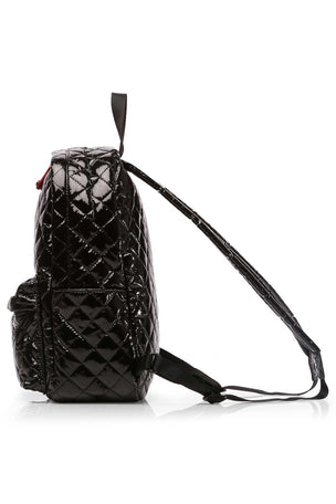 MZ Wallace Small Metro Backpack - Black Lacquer image 4 - The Sports Edit