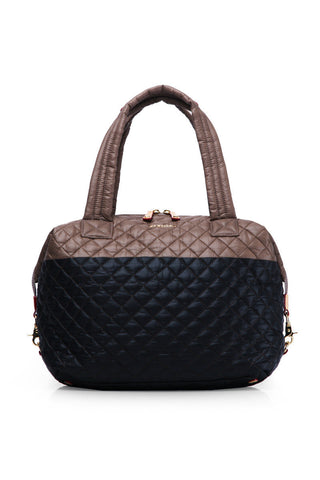 MZ Wallace MZ Wallace Large Sutton Tote    - Fawn/ Black image 1 - The Sports Edit