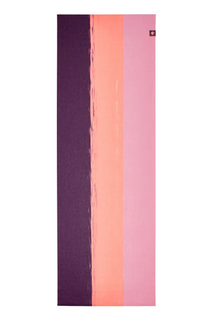 Manduka eKO Superlite Travel Yoga Mat 1.5mm - Fuchsia Stripe image 2 - The Sports Edit