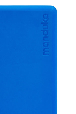 Manduka Recycled Foam Yoga Block - Be Bold Blue image 2 - The Sports Edit