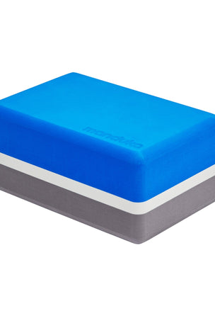 Manduka Recycled Foam Yoga Block - Be Bold Blue image 3 - The Sports Edit