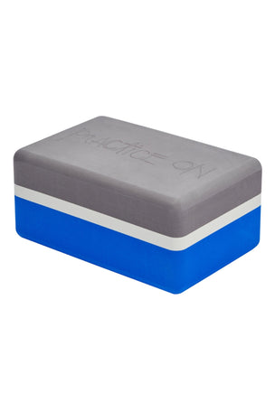 Manduka Recycled Foam Yoga Block - Be Bold Blue image 4 - The Sports Edit