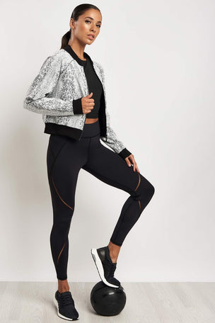 Michi Flash Jacket White Python image 4 - The Sports Edit
