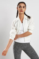 Michi Flash Jacket Ivory image 1 - The Sports Edit