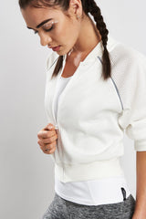 Michi Flash Jacket Ivory image 2 - The Sports Edit