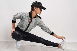 Michi Flash Jacket White Python image 5 - The Sports Edit