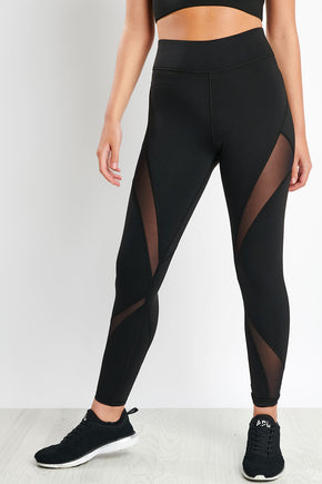 33c510cc13e36d Michi Inversion Legging - Black image 1 - The Sports Edit