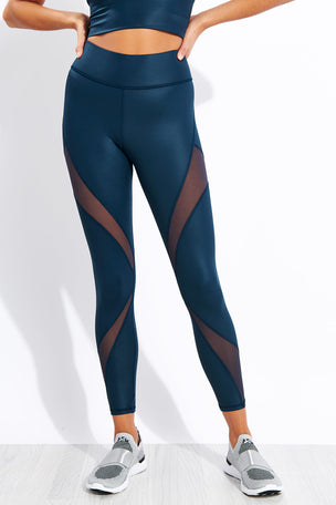 Michi Inversion Rise Legging - Ink image 1 - The Sports Edit