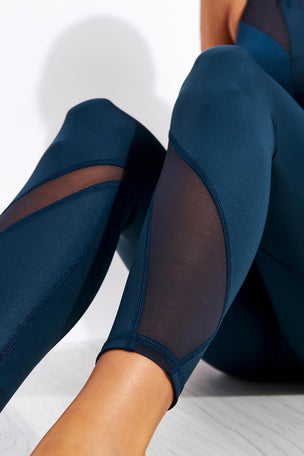 Michi Inversion Rise Legging - Ink image 4 - The Sports Edit
