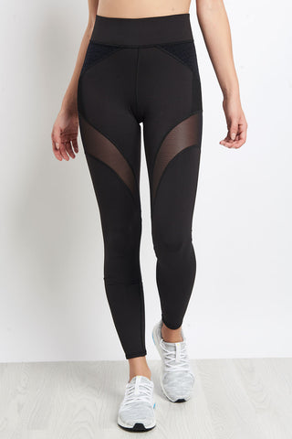 Michi Illusion Legging -  Black Croc image 1 - The Sports Edit