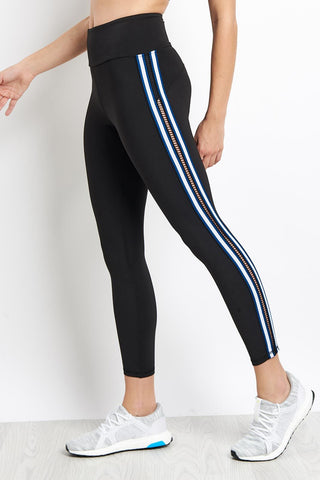Michi Le Mans Legging - Adriatic Blue image 1 - The Sports Edit