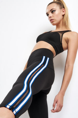 Michi Le Mans Legging - Adriatic Blue image 3 - The Sports Edit