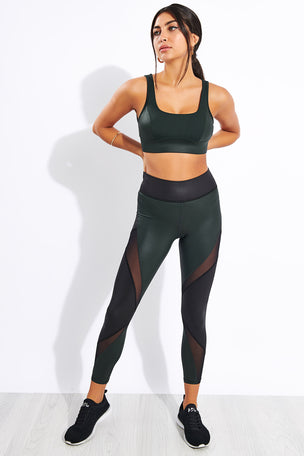 Michi Powerful Bra - Forest image 2 - The Sports Edit