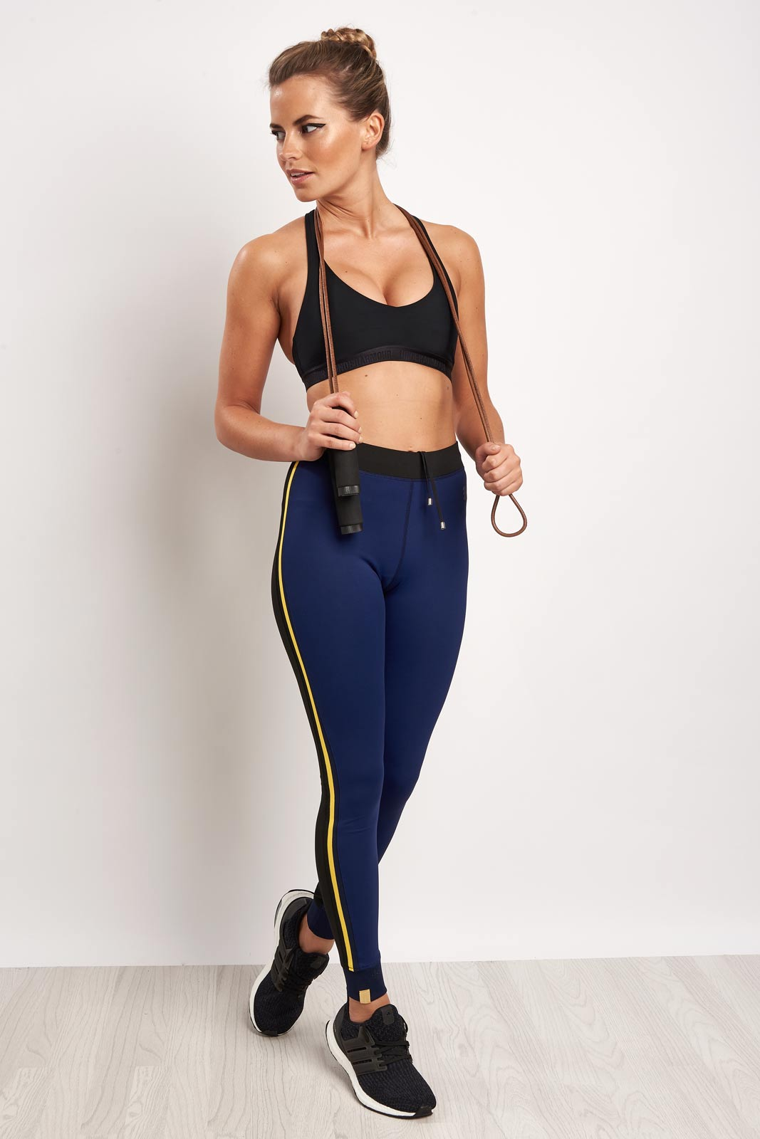 MONREAL Athlete Leggings Dark Sapphire image 4 - The Sports Edit