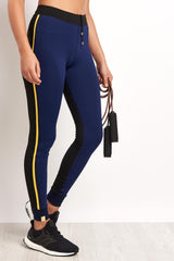 MONREAL Athlete Leggings Dark Sapphire image 1 - The Sports Edit