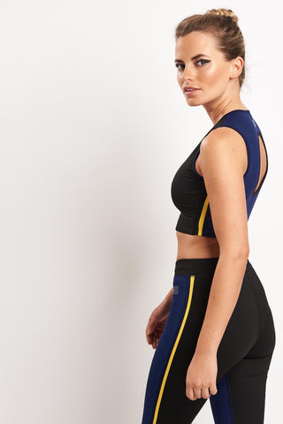 MONREAL Athlete Top - Dark Sapphire image 1 - The Sports Edit