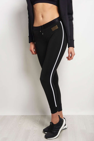 MONREAL Athlete Leggings - Black/ White image 1 - The Sports Edit