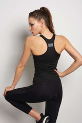 MONREAL Essential Tank - Black/Reflective image 2 - The Sports Edit