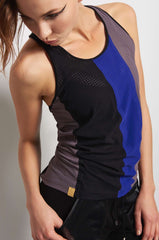 MONREAL Racer Tank - Taupe/Joy/Black image 2 - The Sports Edit