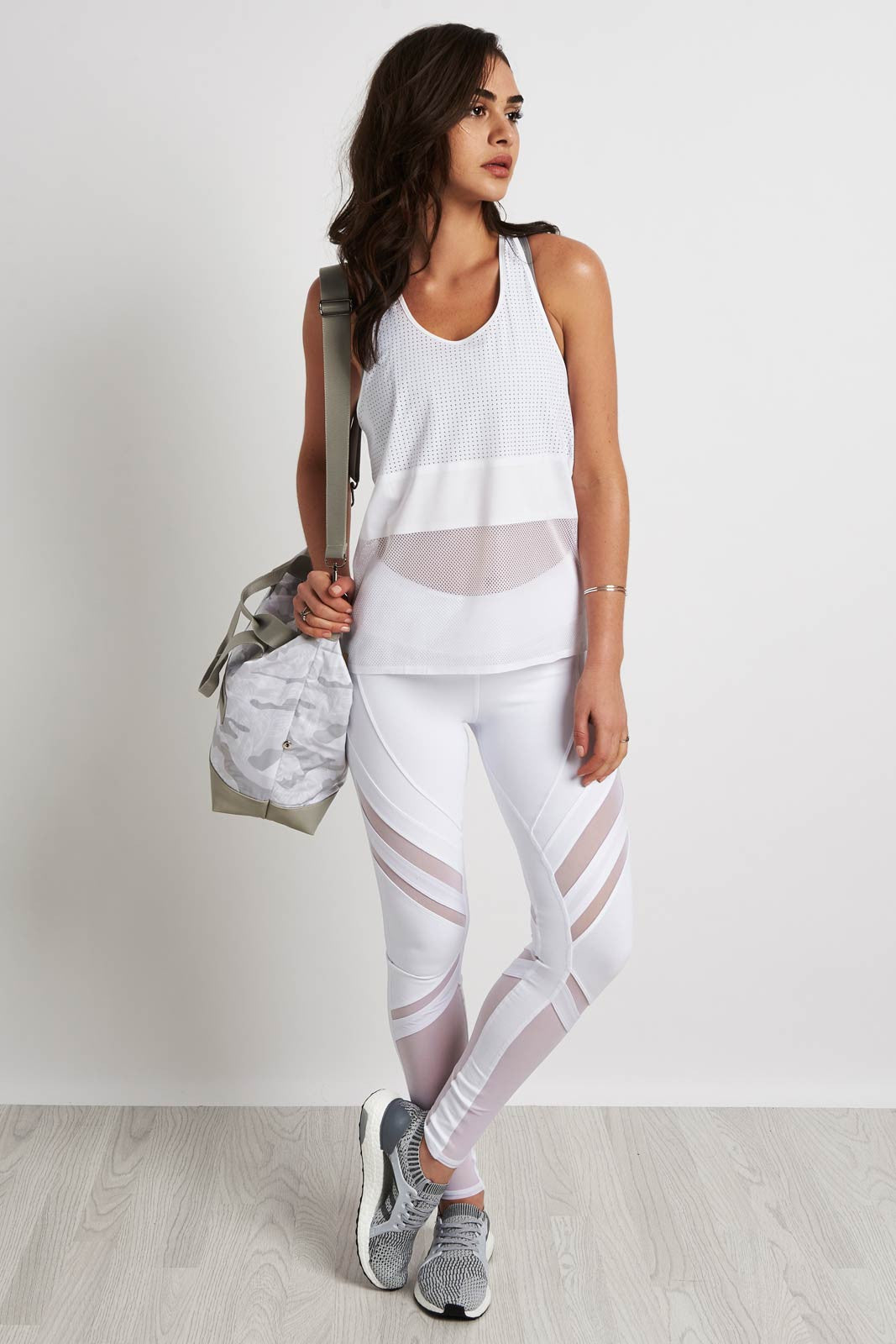 MONREAL Racer Tank White image 4 - The Sports Edit