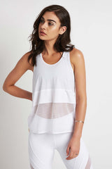 MONREAL Racer Tank White image 1 - The Sports Edit