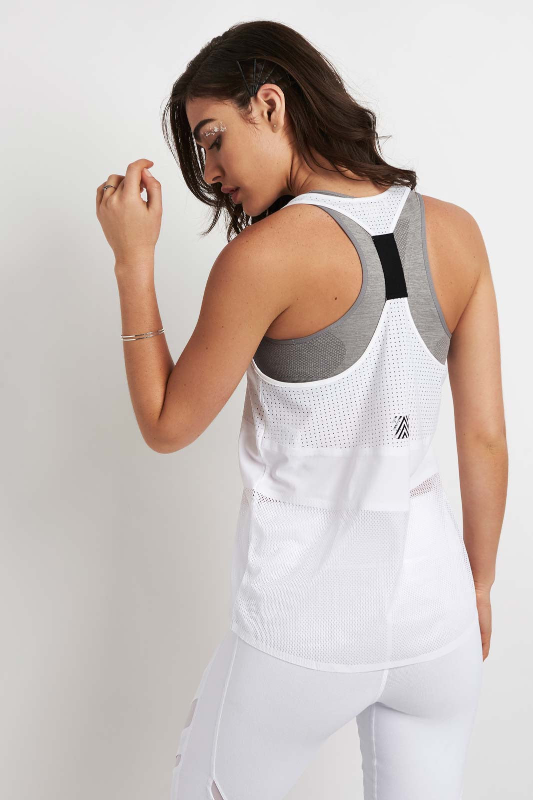 MONREAL Racer Tank White image 2 - The Sports Edit