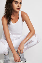 MONREAL Racer Tank White image 3 - The Sports Edit