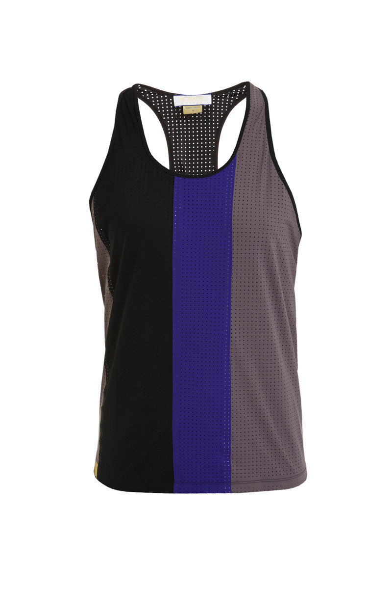 MONREAL Racer Tank - Taupe/Joy/Black image 5 - The Sports Edit