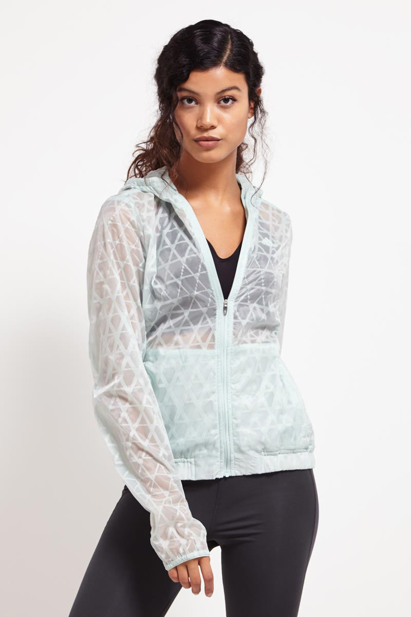 ADIDAS Run Transparent Jacket image 1 - The Sports Edit