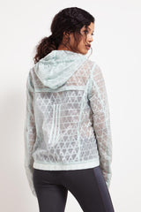ADIDAS Run Transparent Jacket image 5 - The Sports Edit