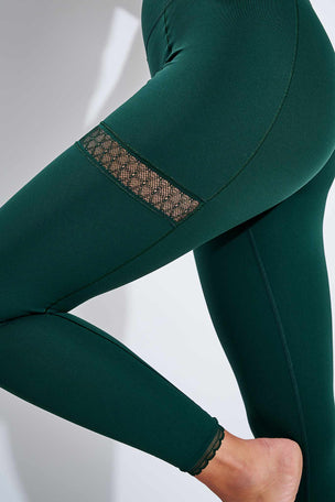 Nike Yoga 7/8 Leggings - Pro Green/Vintage Green image 4 - The Sports Edit