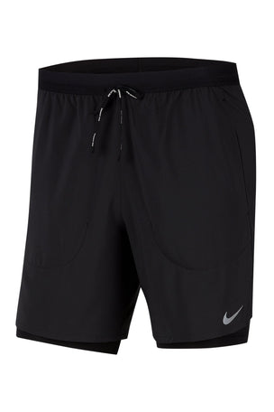 Nike Flex Stride 2-in-1 Shorts - Black image 6 - The Sports Edit