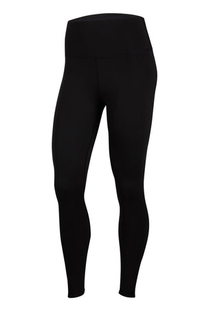 Nike Yoga Ruched 7/8 Leggings - Black/Grey image 6 - The Sports Edit