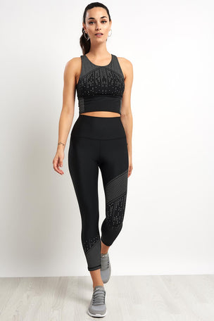 Nimble Glow in Dark Legging - Black image 4 - The Sports Edit