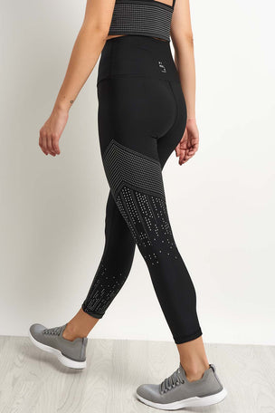 Nimble Glow in Dark Legging - Black image 2 - The Sports Edit