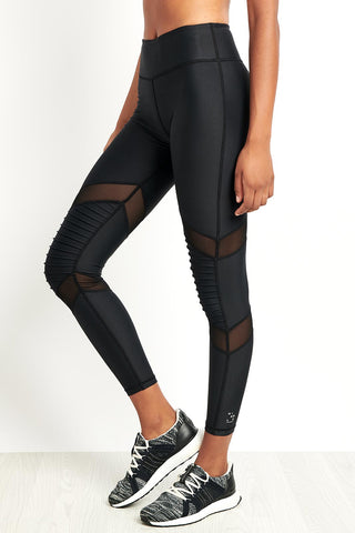 Nimble Moto Long Tight Black image 1 - The Sports Edit