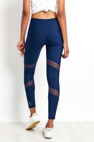 Nimble Moto Long Tight Navy image 2 - The Sports Edit