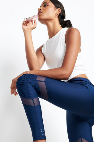 Nimble Moto Long Tight Navy image 3 - The Sports Edit