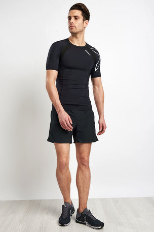 ON Running Men's Cloudflow Black/Asphalt image 5 - The Sports Edit