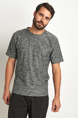 OHMME Cobra Yoga T-Shirt - Grey image 1 - The Sports Edit