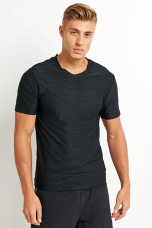 OHMME Cobra Yoga T-shirt - Black image 1 - The Sports Edit