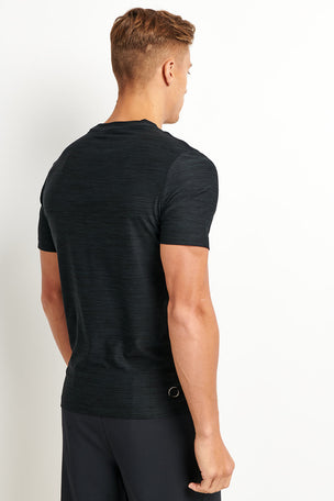 OHMME Cobra Yoga T-shirt - Black image 2 - The Sports Edit