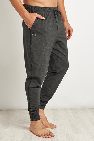 OHMME Dharma Yoga Pant - Graphite image 1 - The Sports Edit